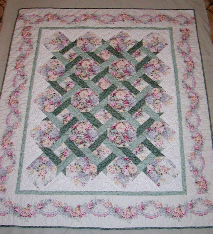Garden Trellis Quilt Quilts To Make Soon Pinterest