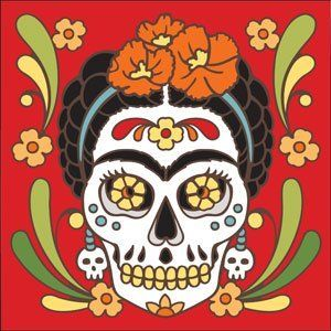 Best 2350 dia de los muertos images on pinterest other for Dia de los muertos mural