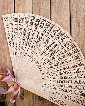 12 Customized Chinese Fan Wedding Favors  Wood Red by sisters520, $52.00