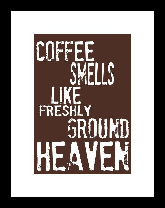 I love coffee!  #coffee #art #kitchen #decor #wall art
