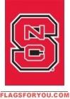 "North Carolina State Wolfpack Garden Window Flag 15"" x 10.5"""