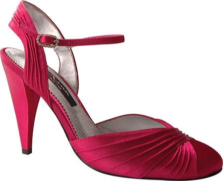 raspberry wedding shoe