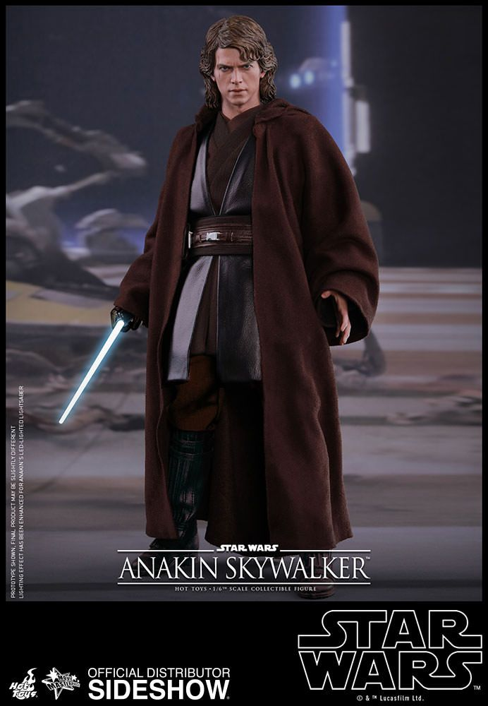 Star Wars Anakin Skywalker Sixth Scale Figure By Hot Toys Sideshow Star Wars Anakin Anakin Skywalker Jedi Outfit