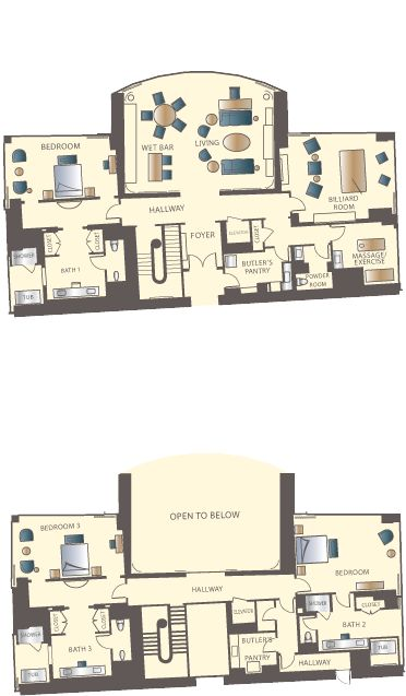 Mirage One Bedroom Tower Suite Photos Design Ideas