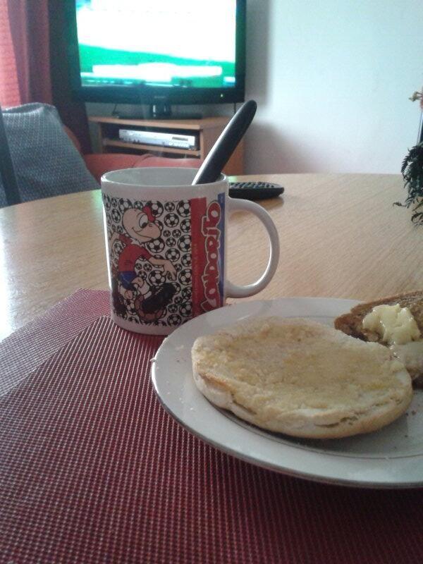 Un rico desayuno...