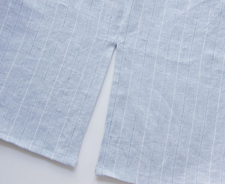 How to Sew a Side Seam Slit Tutorial ... good for kurtis n blouses