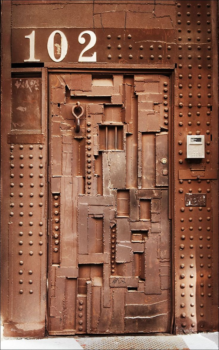 Rusty Metal Door