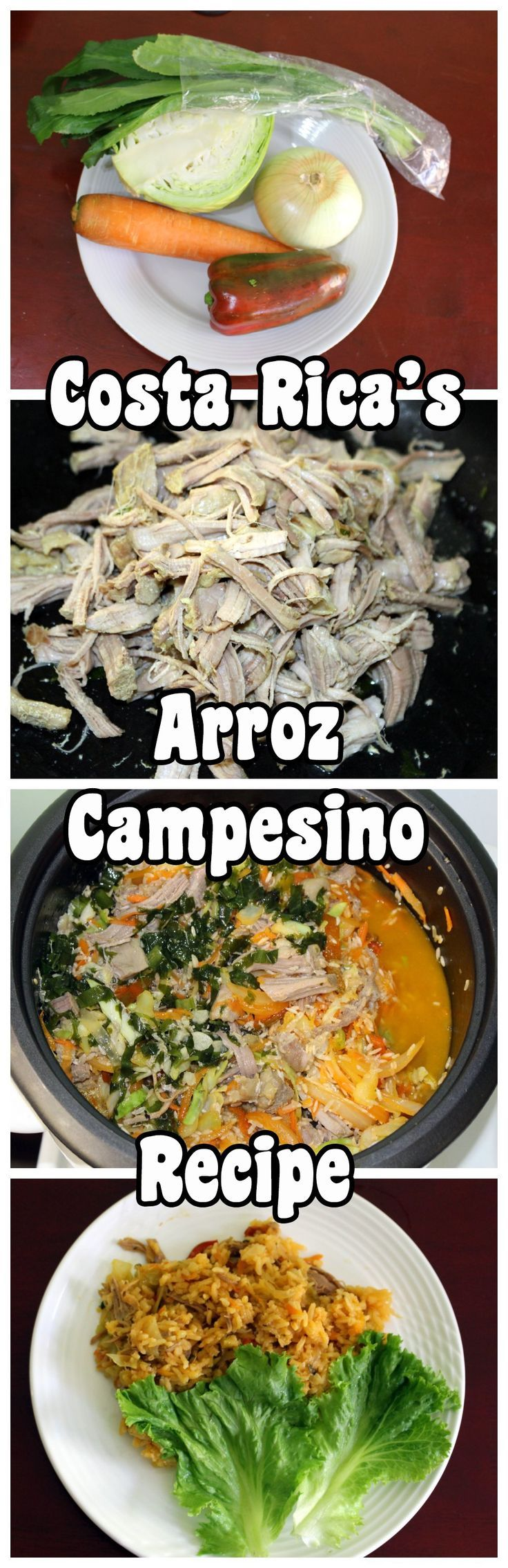 How to make a very traditional dish of Costa Rica that you won't find in many sodas - arroz campesino (farmer's rice). Easy to make, filling and tasty!
