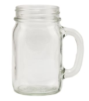 Mason Jar Mugs - Pint Drinking Jar :: only $9.58 per case of 12!!! That's about 80 cents per jar! What will your guests be drinking from this summer?