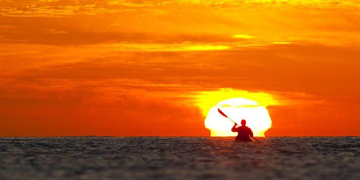 Sea Kayaking & Whale Watching Kayak Baja: Espiritu Santo Sea Kayak Journey (La Paz, Baja) Recommended vacation on the cheap!