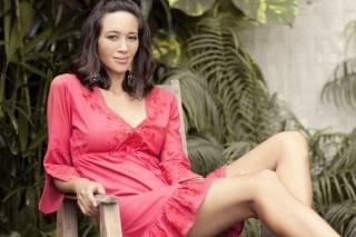 Tyra Dress - Cherry