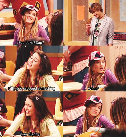 OK. I admit it, I really loved Hannah Montana, and when it stopped playing on disney... I was quite upset.
