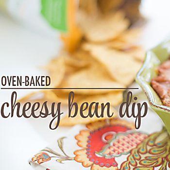 Hot Cheesy Bean Dip Recipe