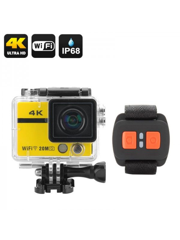 4K Action Camera Clarion (Yellow)