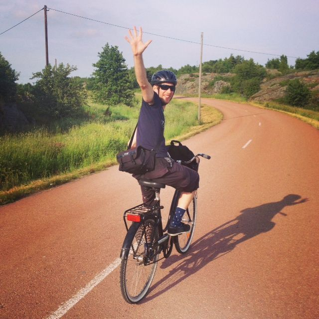 Exploring Kökar, Åland by bike