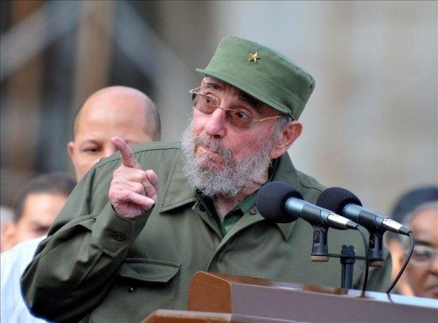 Fidel Castro arremete contra el imperialismo de Estados Unidos y sus aliados