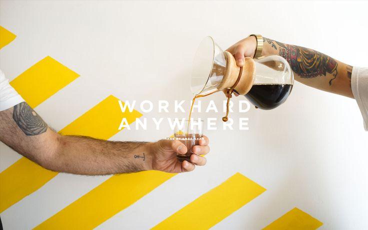 Work hard refuel with coffee