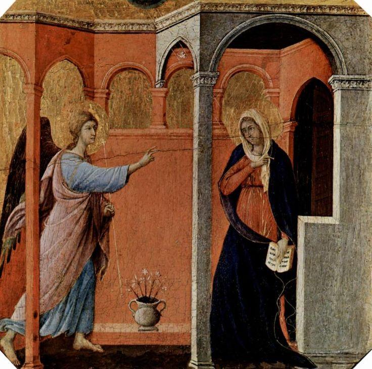 Маэста, алтарь сиенского кафедрального собора Дуччо ди Буонинсенья