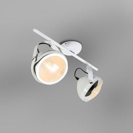 Plafondspot Biker 2 wit - Keukenverlichting - Verlichting per ruimte - Lampenlicht.be