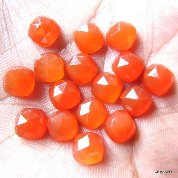 15-P Wholesale Lot Of  Pink Chalcedony 10X12 MM Oval Shape Loose Gemstone Cabochon