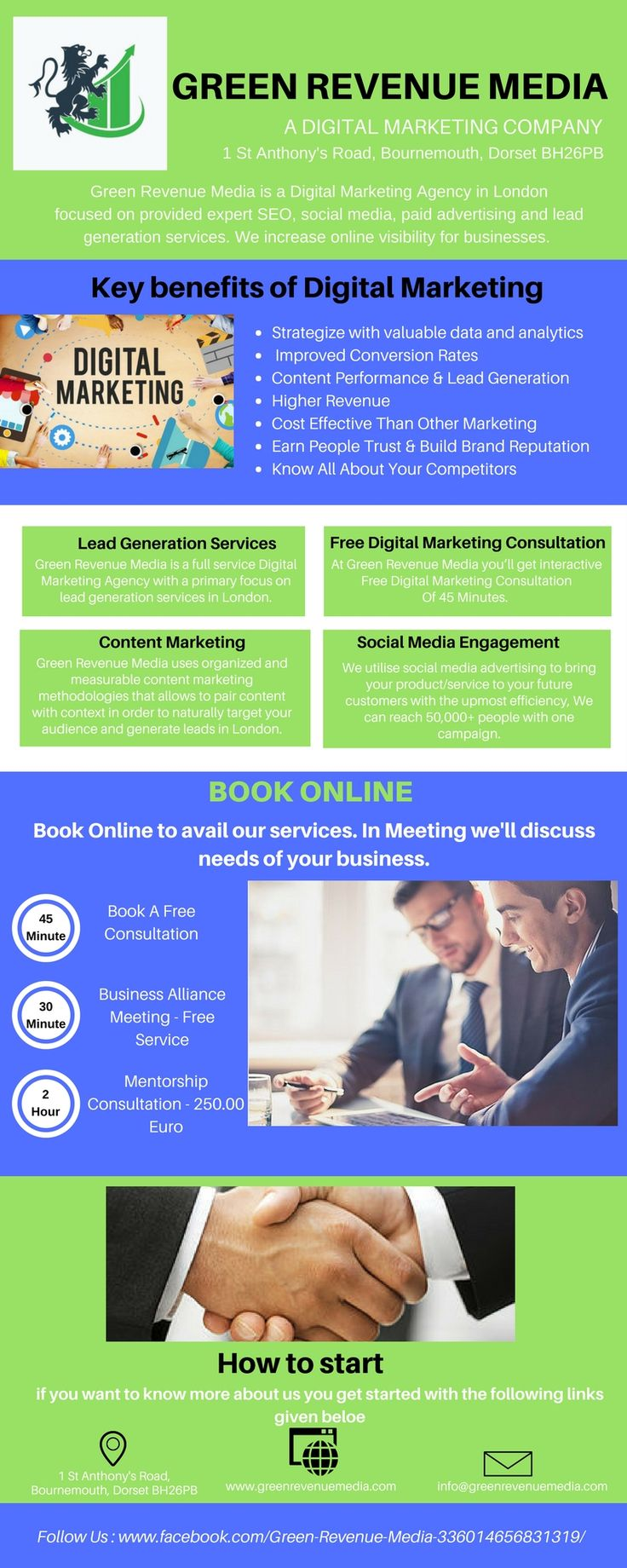 Green Revenue Media provides Lead Generation Services in London, UK. Our consistent lead generation services help b2b and b2c businesses attain their ROI goals. Here we offer cost-effectual lead generation service that will be tailored according to your business and help you make best use of your marketing budget for optimum performance.