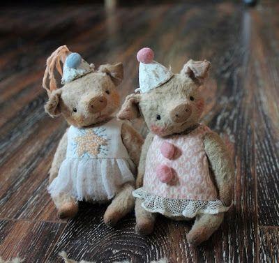 Сказки стареньких игрушек: Свинки :)