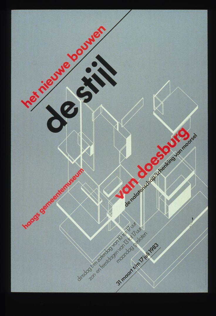 wim crouwelConstructivism Posters, Style, Prints Design, Graphics Design, 01Wimcrouwelpopupjpg 411600, Wim Crouwel Posters, Aigas Posters, Architecture 1983, Design Museumpost
