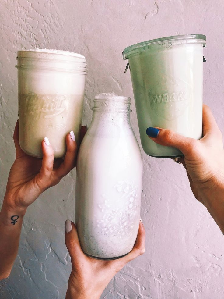 Making your own milk is easier than you think. Let me give you some backstory on my relationship with DIY milks.I started making nut milk in high school at my job at the local raw vegan smoothie bar in my hometown. We made a lotof nut milk for our smoothies. Quarts and quarts of it a day.Almond,