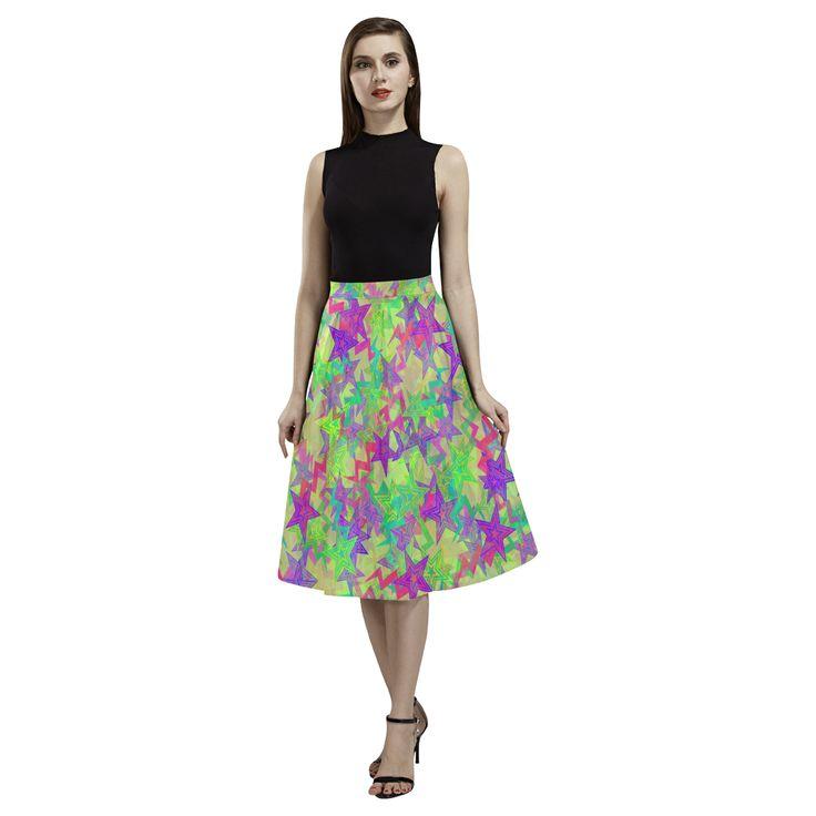 Shooting Stars Aoede Crepe Skirt(Model D16)