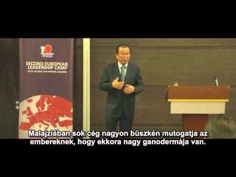 Dato Dr Lim Siow Jin DXN alapító elnöke,bevezetett minket a nagy titokba...