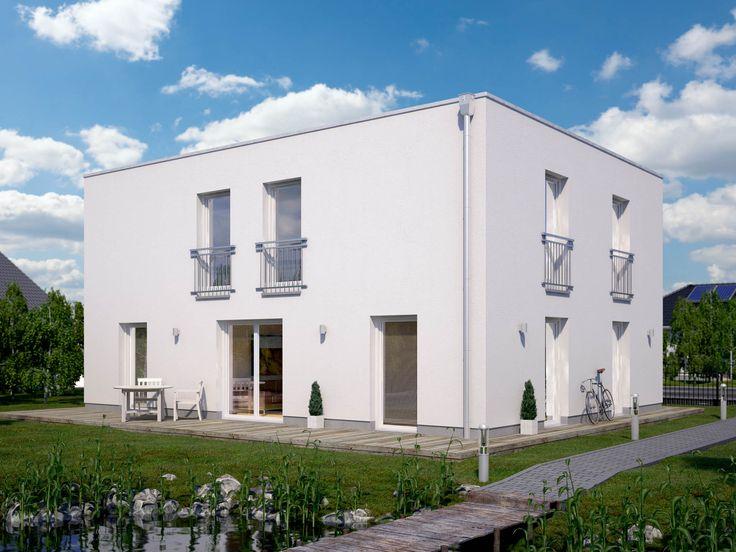 Musterhaus bungalow flachdach  29 besten Massivhaus Bilder auf Pinterest | Einfamilienhaus ...