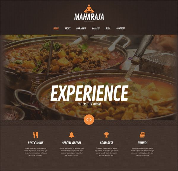 Asian Restaurant WordPress theme is a perfect and fancy WordPress theme designed for restaurants, pubs, bars, wineries, pizzerias, cafe and more to revamp their online presence through an attractive website.
