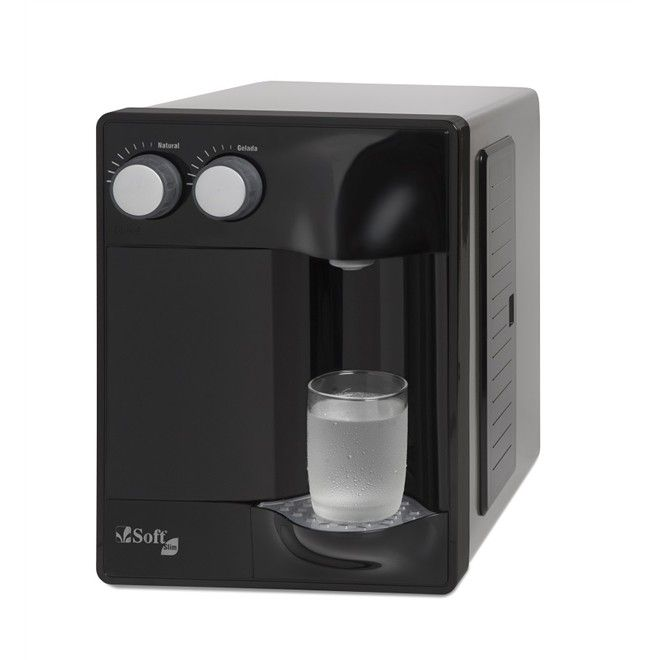 Filtro Purificador de Água SOFT SLIM PRETO (N) 220 V