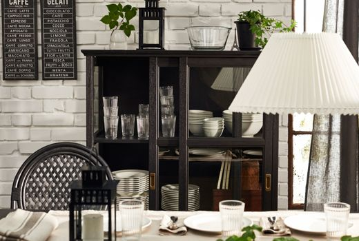 IKEA Dining storage