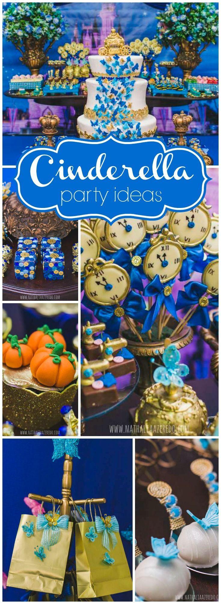 Such a stunning Cinderella party based on the new Disney movie! See more party ideas at http://CatchMyParty.com!