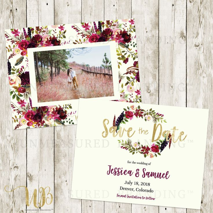 Best 25+ Save The Date Templates Ideas On Pinterest