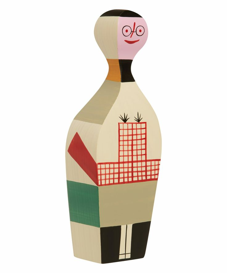 Vitra Design Museum Wooden Doll No. 8 by Alexander Girard