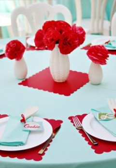 1950s Retro-Themed Bridal Shower - Bridal Showers | The Knot