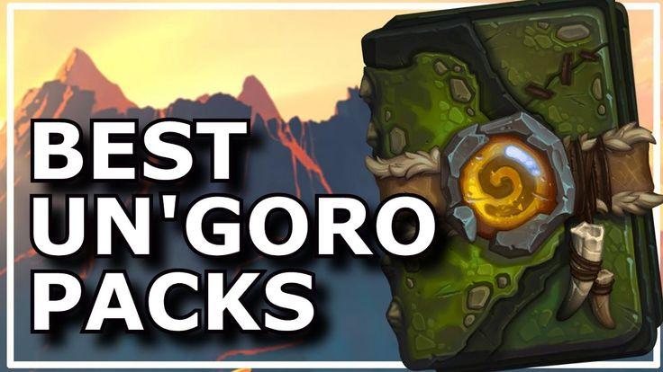 Hearthstone - Best of Un'goro Packs
