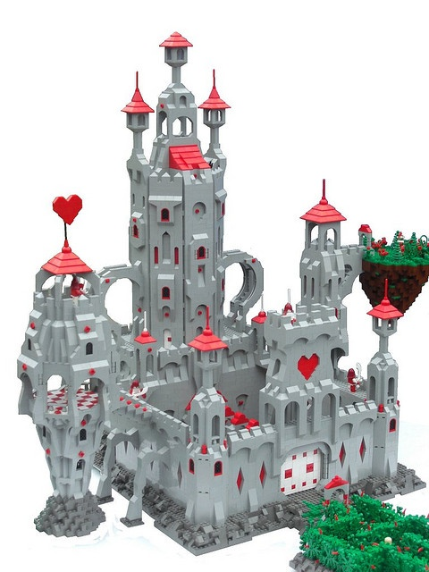 1000+ images about Lego Alice In Wonderland and Through ...