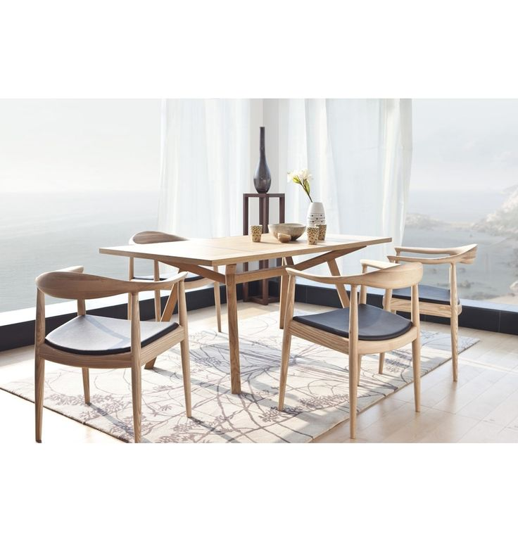 ORIGINAL Sean Dix Forte Timber Dining Table - Matt Blatt