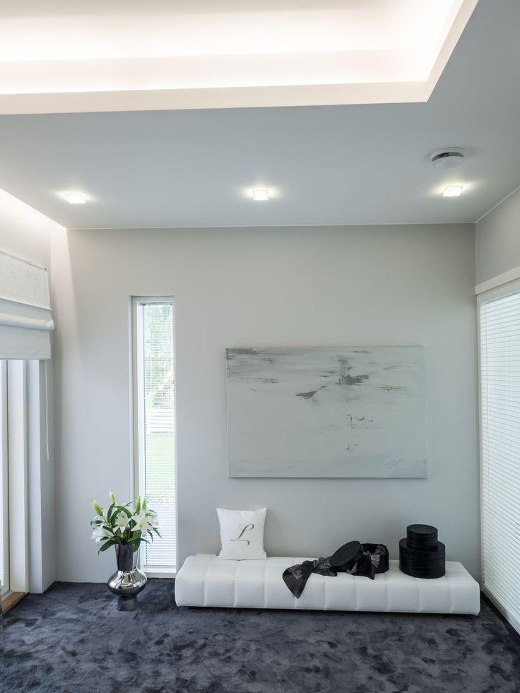 The bedroom is a place for relaxation and rest. Indirect lighting design makes the room beautiful and attractive!Makuuhuone on paikka levolle ja rentoutumiselle. Epäsuora valo tekee huoneesta kauniin ja viehättävän paikan.