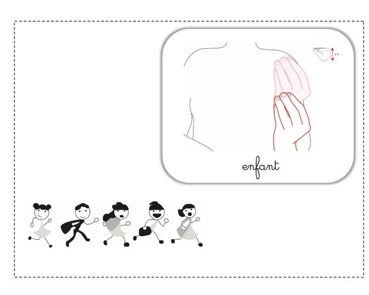 enfant LSF illustration