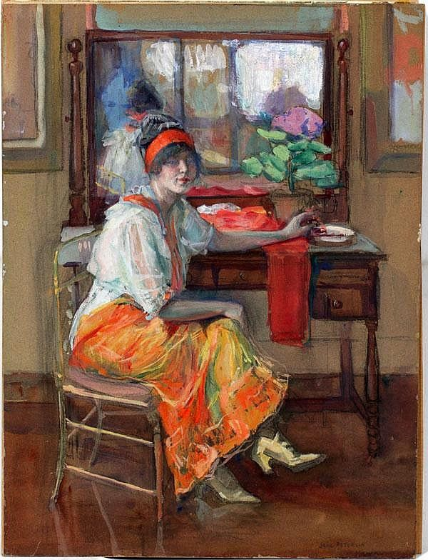 Self Portrait - Jane Peterson