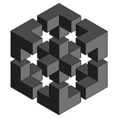 Penrose Triangle Cubes 185 best Tattoo Ideas ...