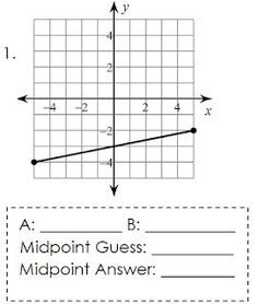 8 best Midpoint and distance formula images on Pinterest