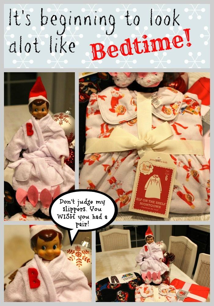 Elf on the Shelf Pajamas {pottery barn kids}-Making Life Whimsical