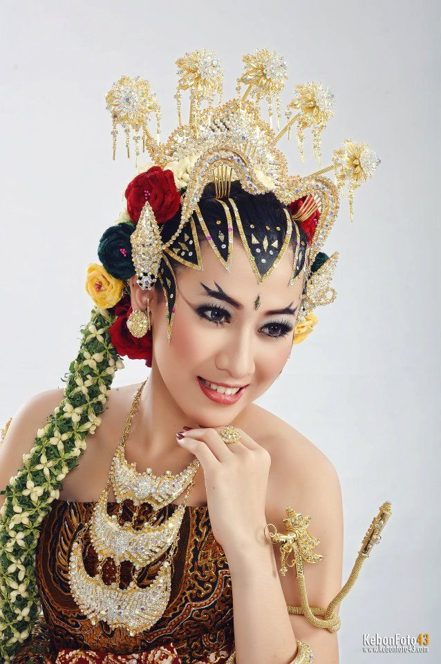 Javanese Girl Wedding Dress