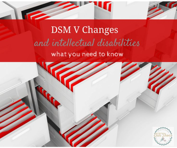 Everyone knew about the changes to autism in the DSM 5, but not everyone was aware to some other major changes, particularly about intellectual disability.