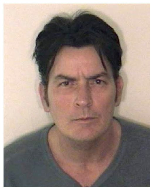 Actor Charlie Sheen was arrested by Aspen, Colorado cops in December 2009 on a domestic violence charge that includes felony assault, felony menacing, and misdemeanor criminal mischief counts. The 44-year-old star of the hit TV show 'Two and A-Half Men,' who was in the ski resort town with his wife, was booked into the Pitkin County Jail where he posed for the above photo before appearing before a district court judge and posting $8500 bond.